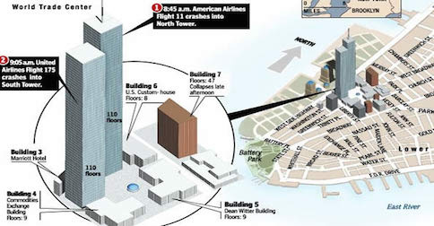 Map Of World Trade Center Before 9 11.C Span Airs Interview Regarding 9 11 Truth And Tower 7 Video