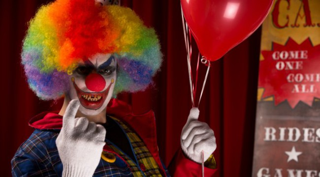 Fake Clown Attacks Grip France