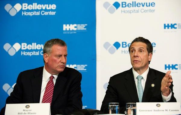 New York and New Jersey will quarantine any traveler who contacted Ebola patients