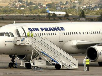Air France Plane Quarantined In Madrid Over Potential Ebola Case