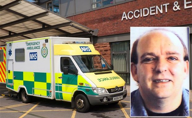 Vulnerable man died in agony after 999 operator told him: 'Call back when you're unconscious'