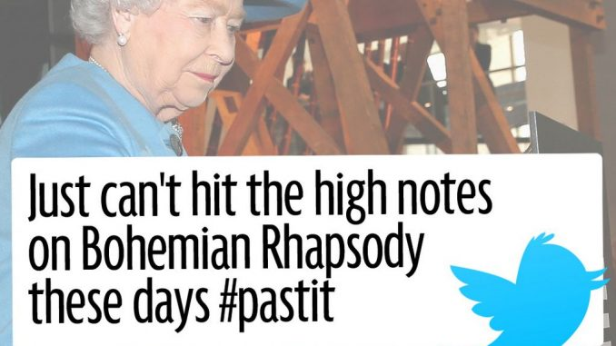 One is not amused: Trolls attack the Queen after she posts her first tweet