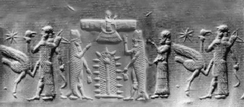 Sumerian fish god