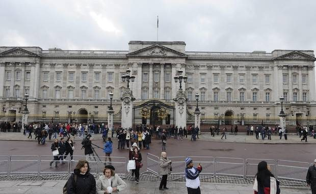 Royal officer arrested after ammunition found in lockers at Buckingham Palace