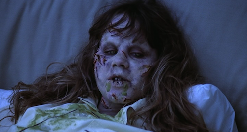 Possessed by the Devil - Regan lies in bed in the film 'The Exorcist' Directed by William Freidkin