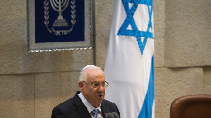 President Rivlin: Time to admit that Israel is a sick society that needs treatment