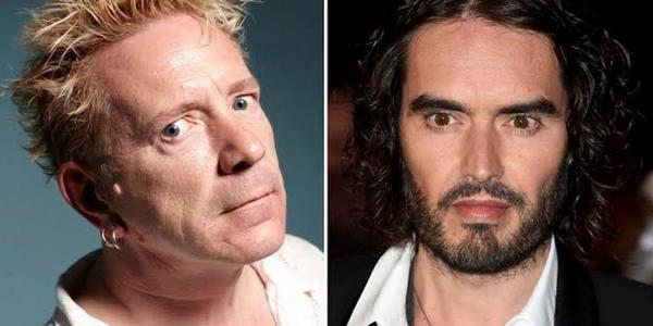 Russell Brand Labelled A 'Bum Hole' By Johnny Rotten In 'Revolution' Rebuke
