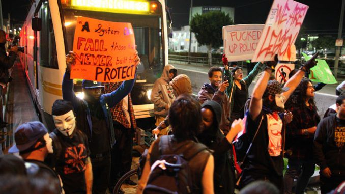Ferguson protest contagion, coercive nuclear negotiations & Black Friday stampedes