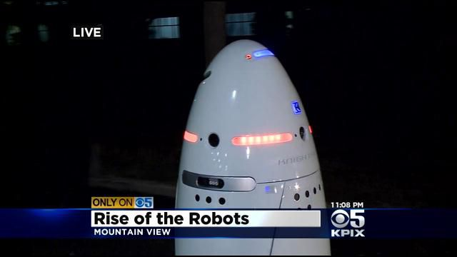 crime fighting robots