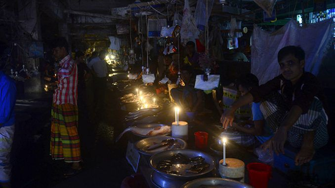 Country-wide blackout in Bangladesh as power grid collapses