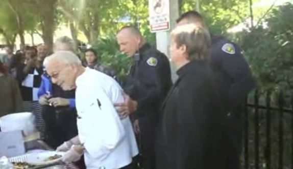 Ninety-year-old man faces jail for feeding homeless people