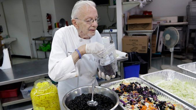 Arnold Abbott: 90-year-old man vows to keep feeding the homeless despite facing jail
