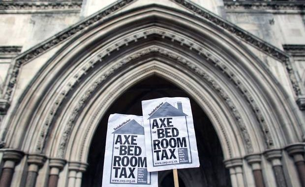 Church of England slams Britain's government over bedroom tax