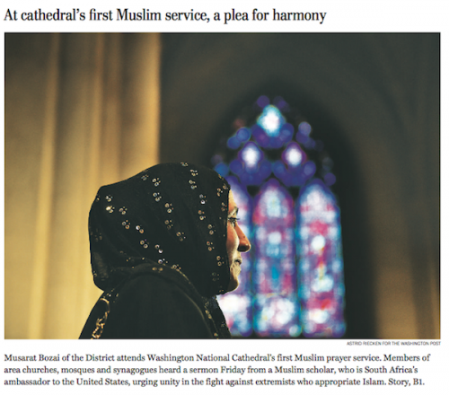national cathedral muslim
