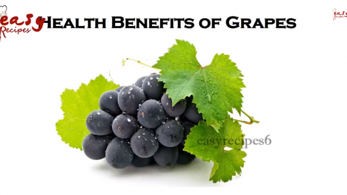 Video Health Benefits Of Grapes Health Benefits Of Grape Juice