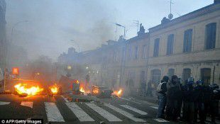 Riots erupt in Southern France over death of eco-activist killed by police grenade