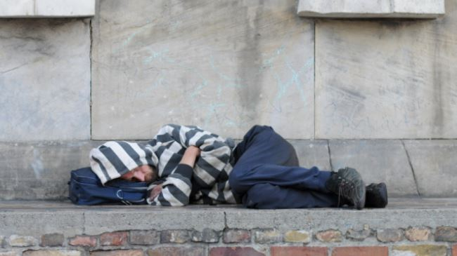 UK youth homelessness soars amid cuts: Study