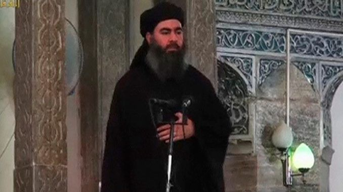 Iraqi state TV confirms ISIS leader al-Baghdadi wounded in airstrike