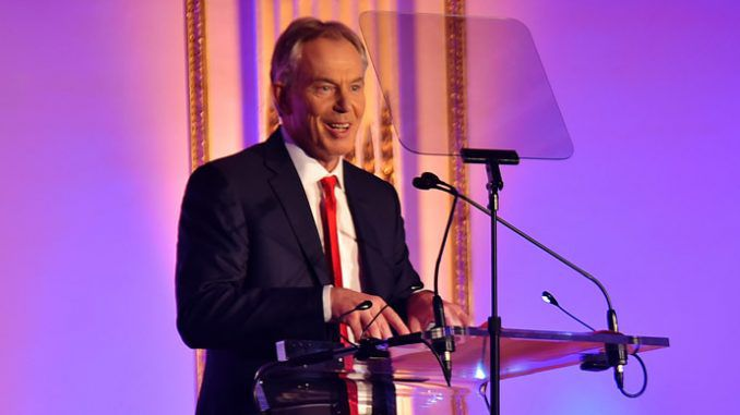 Outrage as Save the Children give Tony Blair the Global Legacy Award