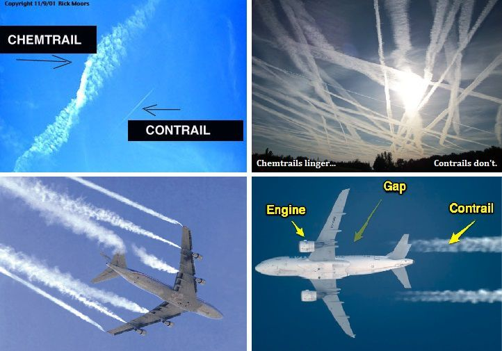 chemtrail or contrail the nuclear connection Chemtrails and the Nuclear Connection