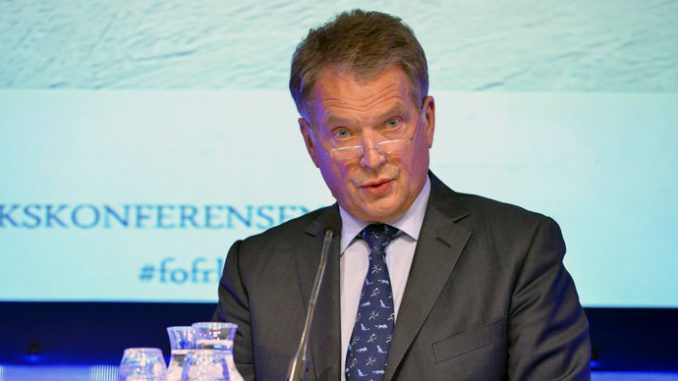 Joining NATO would alienate Russia says Finlands President Niinisto