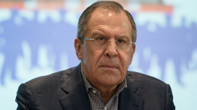 Western sanctions are aimed at regime change in Russia says Lavrov