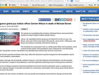 Darren Wilson Indicted? MSM Posted Story Claiming So