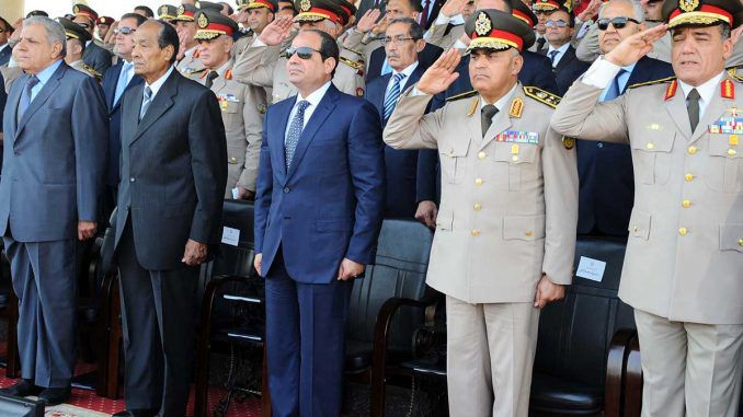 Egyptian president says his regime is ready to protect Israel