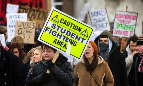 Thousands of students expected to march in London for free education