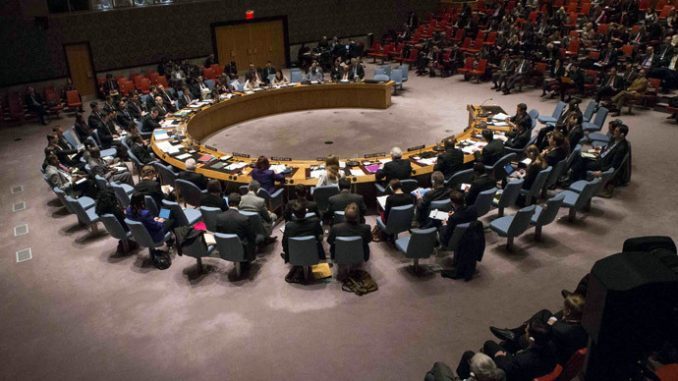 US vetoes Palestinian statehood bid at UN Security Council