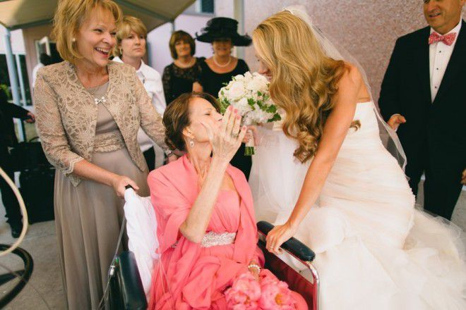 Bride moves wedding to the hospital
