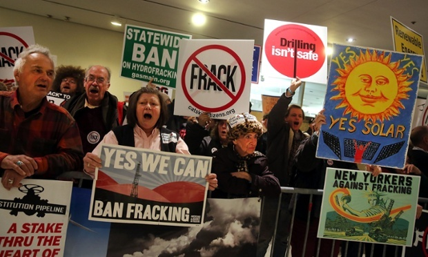 US media in propaganda war with global anti-fracking activism