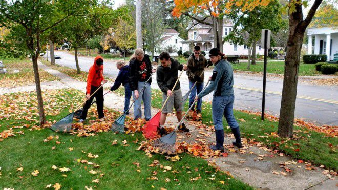 Jonesville High School FFA NHS Community Service (16)