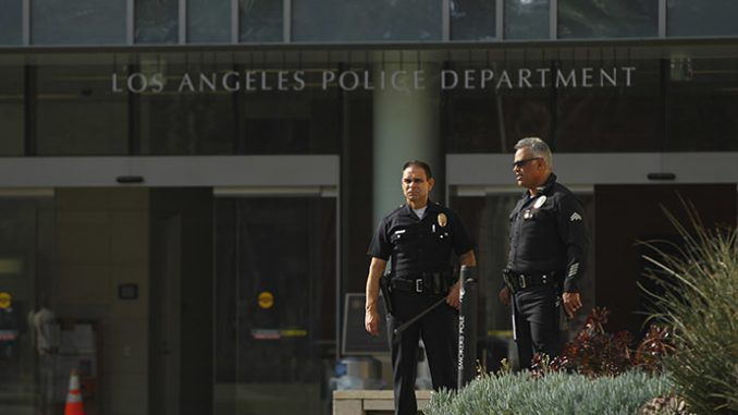LAPD becomes first major police force to equip all officers with body cameras