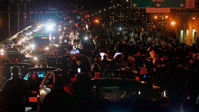 Video: Second Day Of Protests Over Eric Garner Decision
