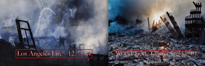 The LA Fire and 9/11