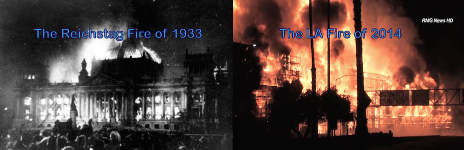 The LA Fire and Reichstag