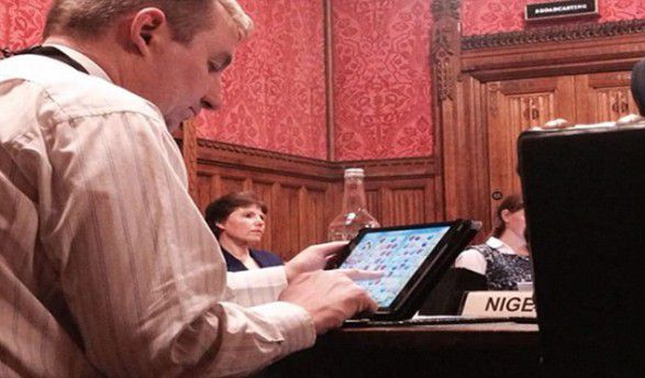 Shame of MP who played Candy Crush in Commons, but authorities only care about finding out whoever filmed him