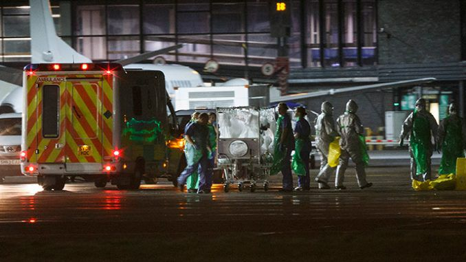 Second patient being tested for Ebola in Scotland