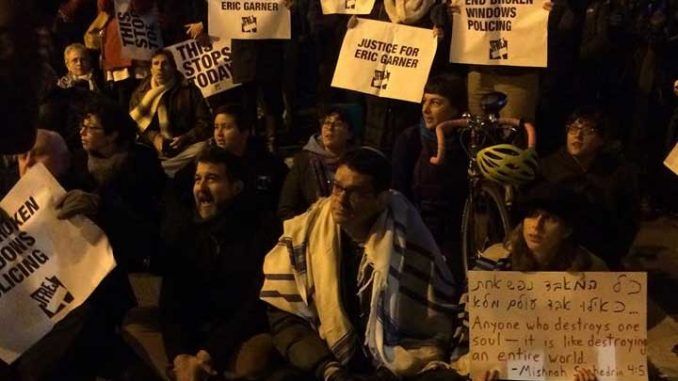 NY rabbis arrested as Jewish group protests Eric Garner decision