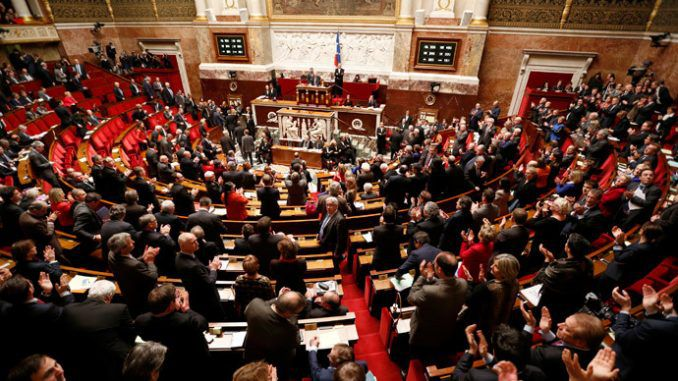 French parliament has voted to recognize Palestinian state
