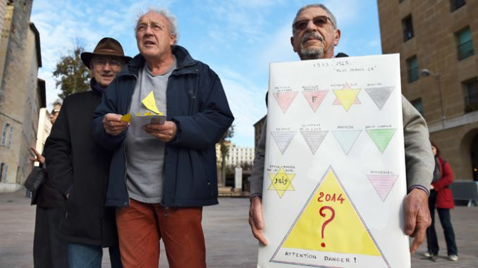 French city under fire over Nazi-style 'yellow triangle' homeless badges