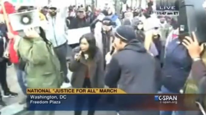 A Fox affiliate has been caught deceptively editing footage of police protesters: Video