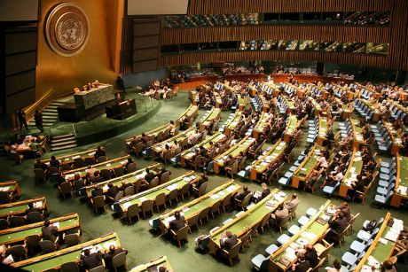 UN General Assembly adopts resolution for Palestinian sovereignty in West Bank, Gaza and East Jerusalem