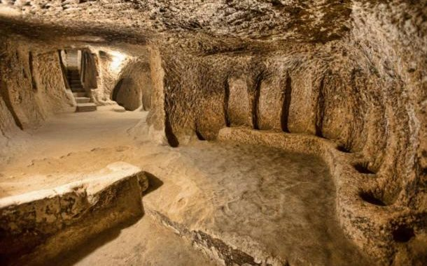 A massive 5,000-year-old underground city uncovered in Cappadocia, Turkey