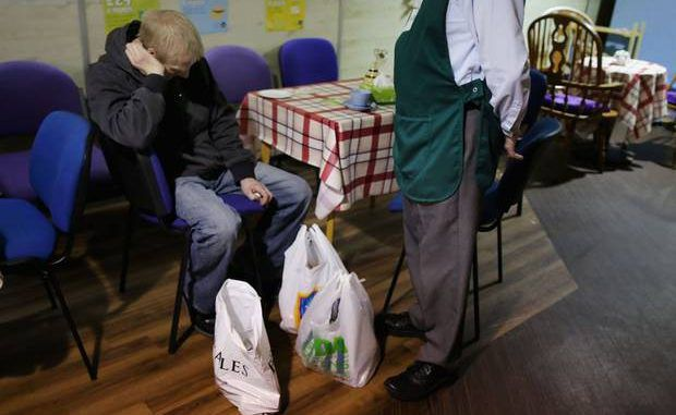 Jobless are being punished with hunger for claiming unemployment benefit, say churches