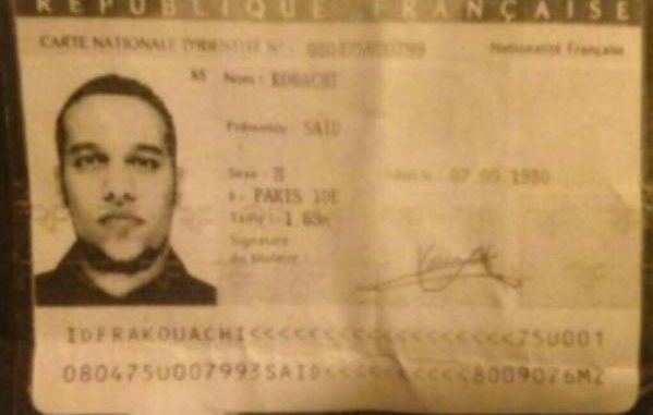 The Hebdo suspects 'identified after one leaves ID card in abandoned getaway car'