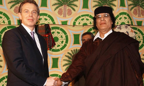 Blair colluded with Gaddafi over Libya exiles