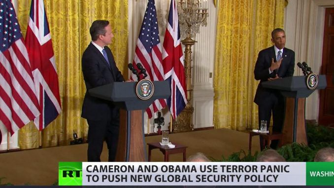 US and UK use terrorism panic to push global surveillance policy (Video)