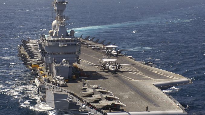 France sends Charles de Gaulle aircraft carrier to aid military operations in Iraq